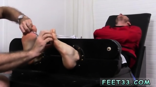 Mens feet straight Before you