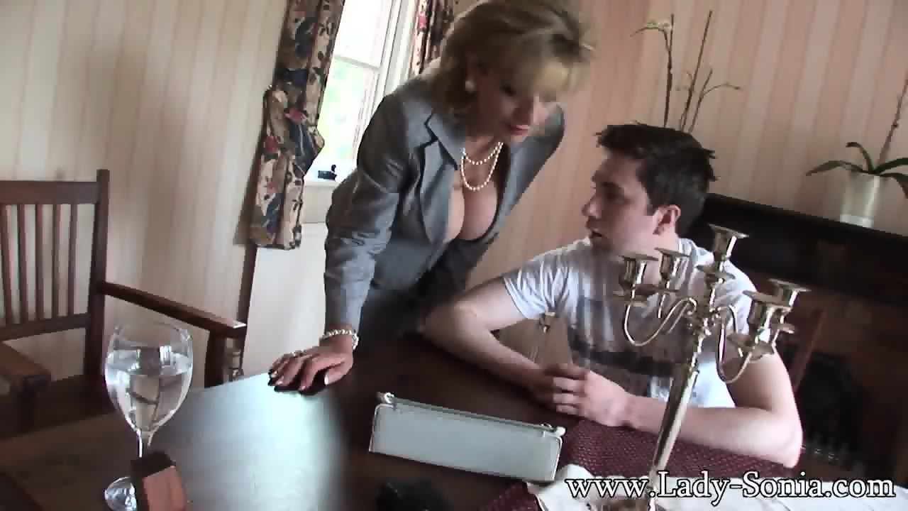 Homemade milf fucks fat guy