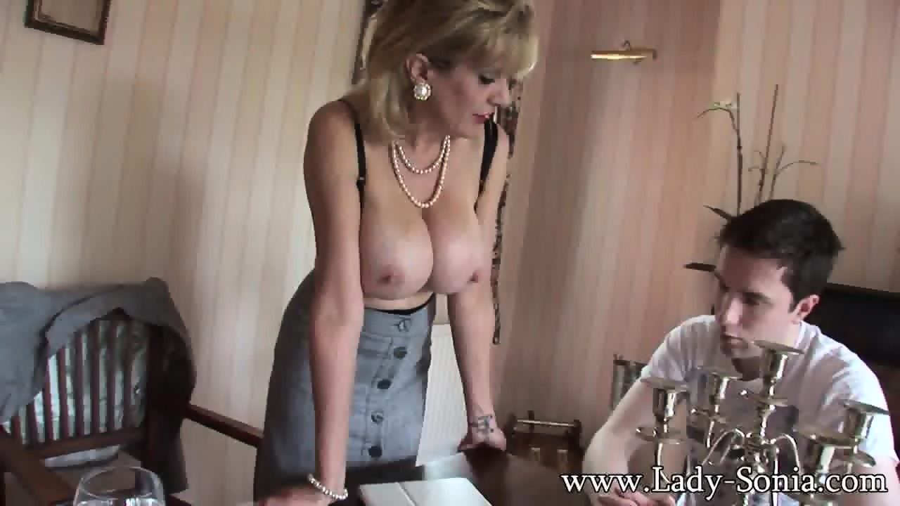 housewife seduces young man