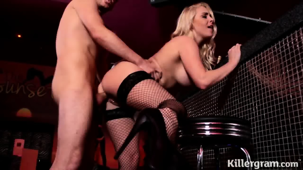 Hot Barmaid Gets Creampied