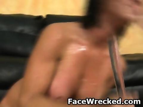 Fucking brunette during makeup black stockings 3