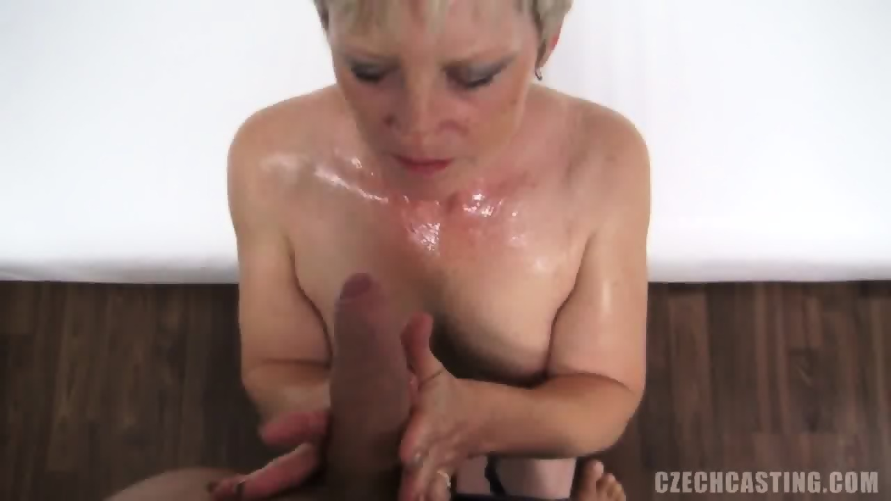 Mature Blonde Sucks And Takes Cock At The Casting Eporner