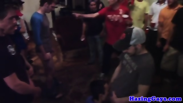 straight hazedtwink gayfucked at frat party