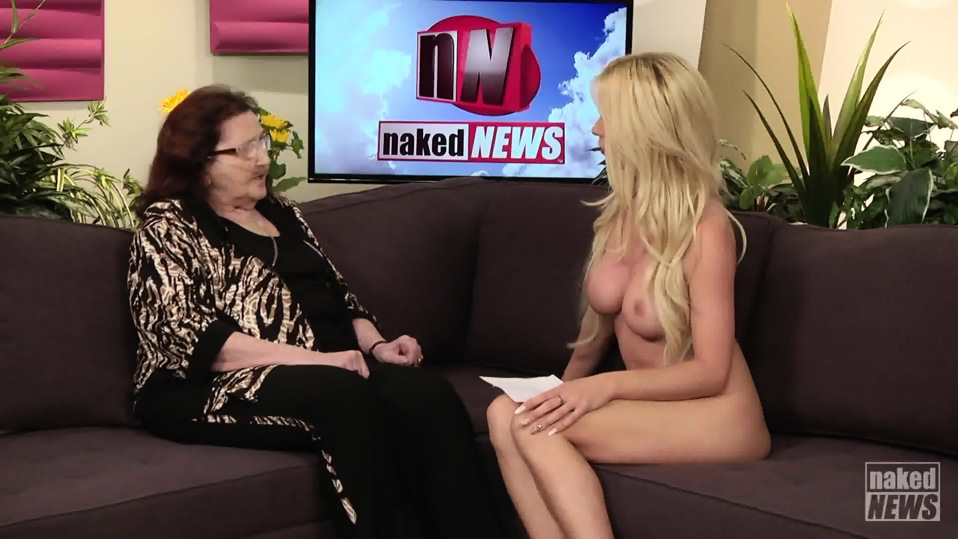 Naked TV Presenters - EPORNER