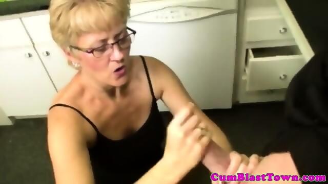 Sperm loving granny