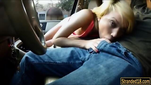 car head porn