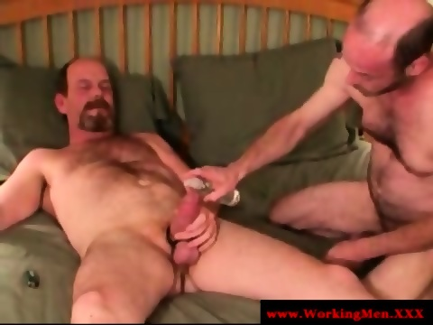 redneck bear matures anal butt romping