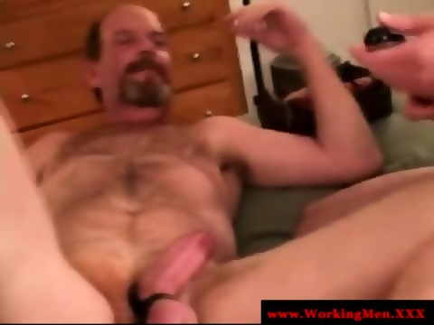 Old mature straight bears gay butt love