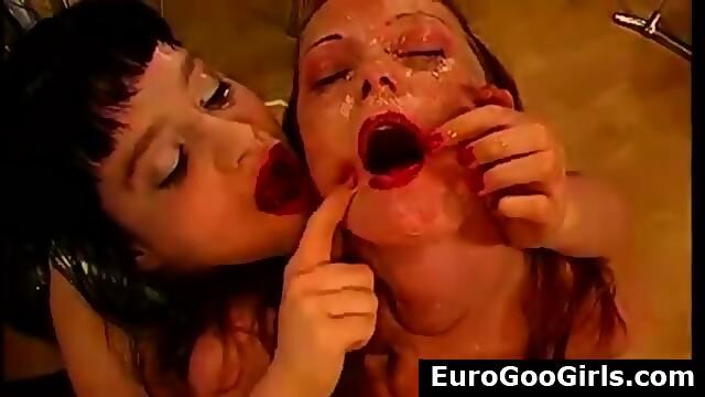 Bukkake cumshots german sluts get facial can find
