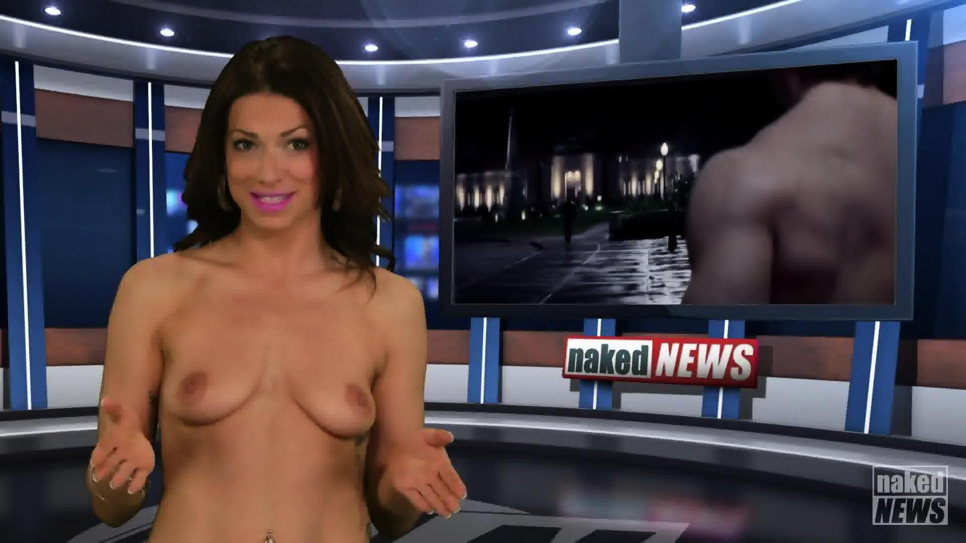 Смотреть видео голых русских телеведущих