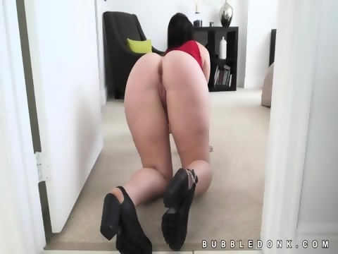 her clit was wet