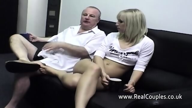 Wife eats cum out of girlfriends ass