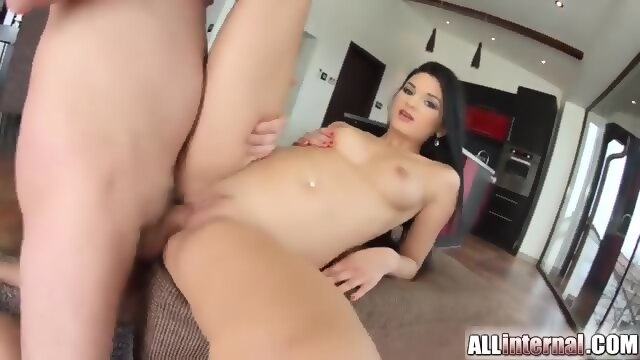 All internal creampie