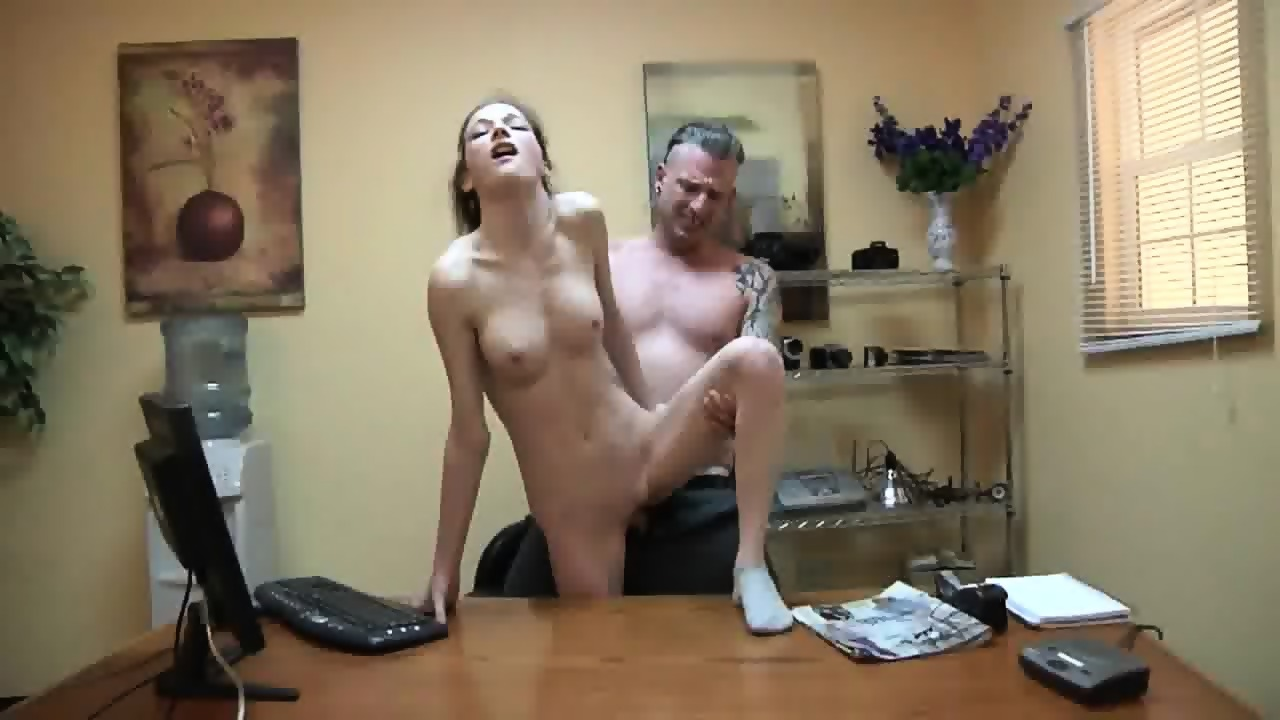 brunette tied and fucked
