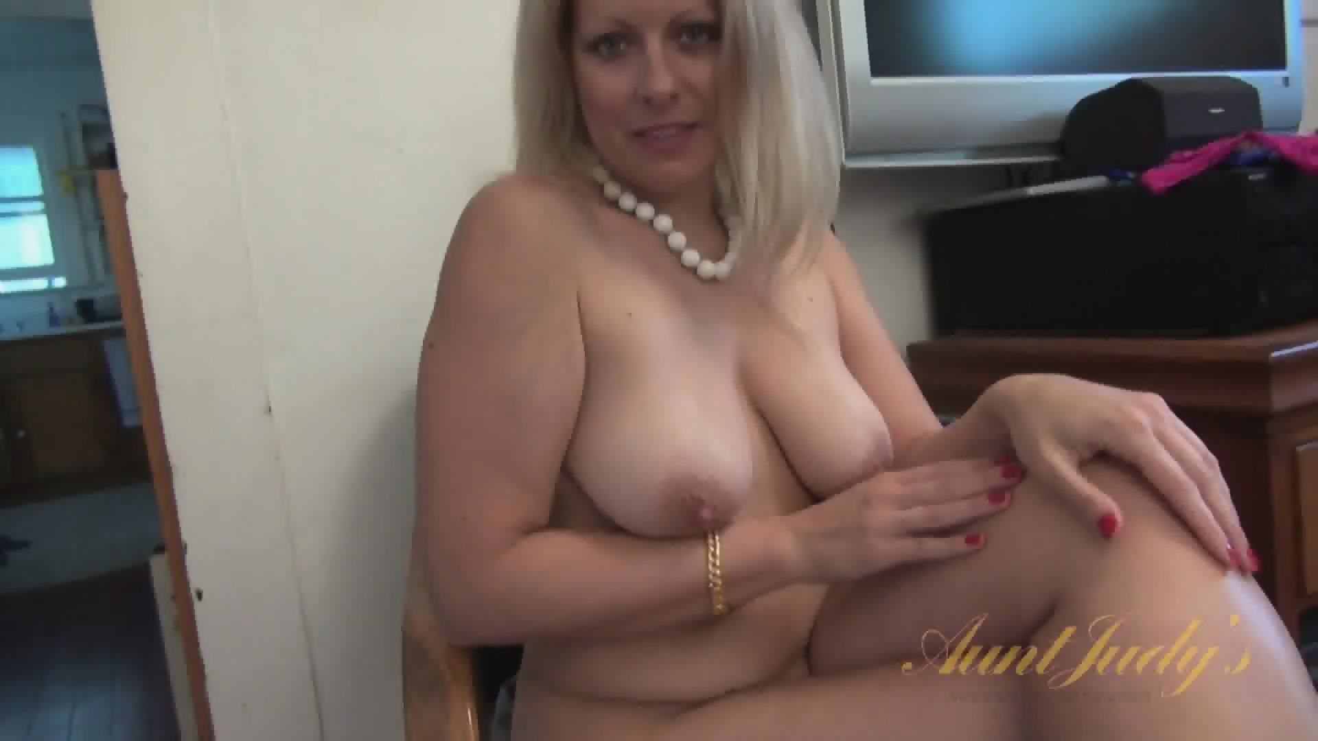 Naked mom at office