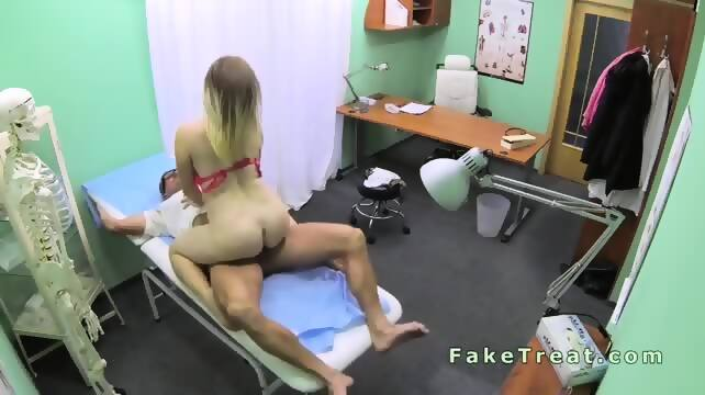 Doctor Fuck Big Ass Patient In Fake Hospital Scene 5