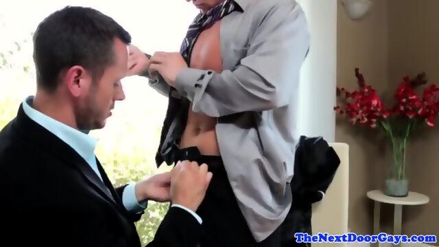 Cfnm blowjob porn