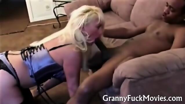 Big Tit Granny Fucks Bbc