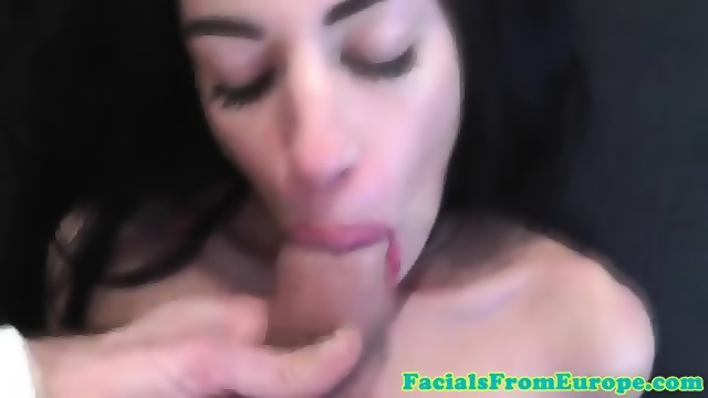 cocksucking eurobabe