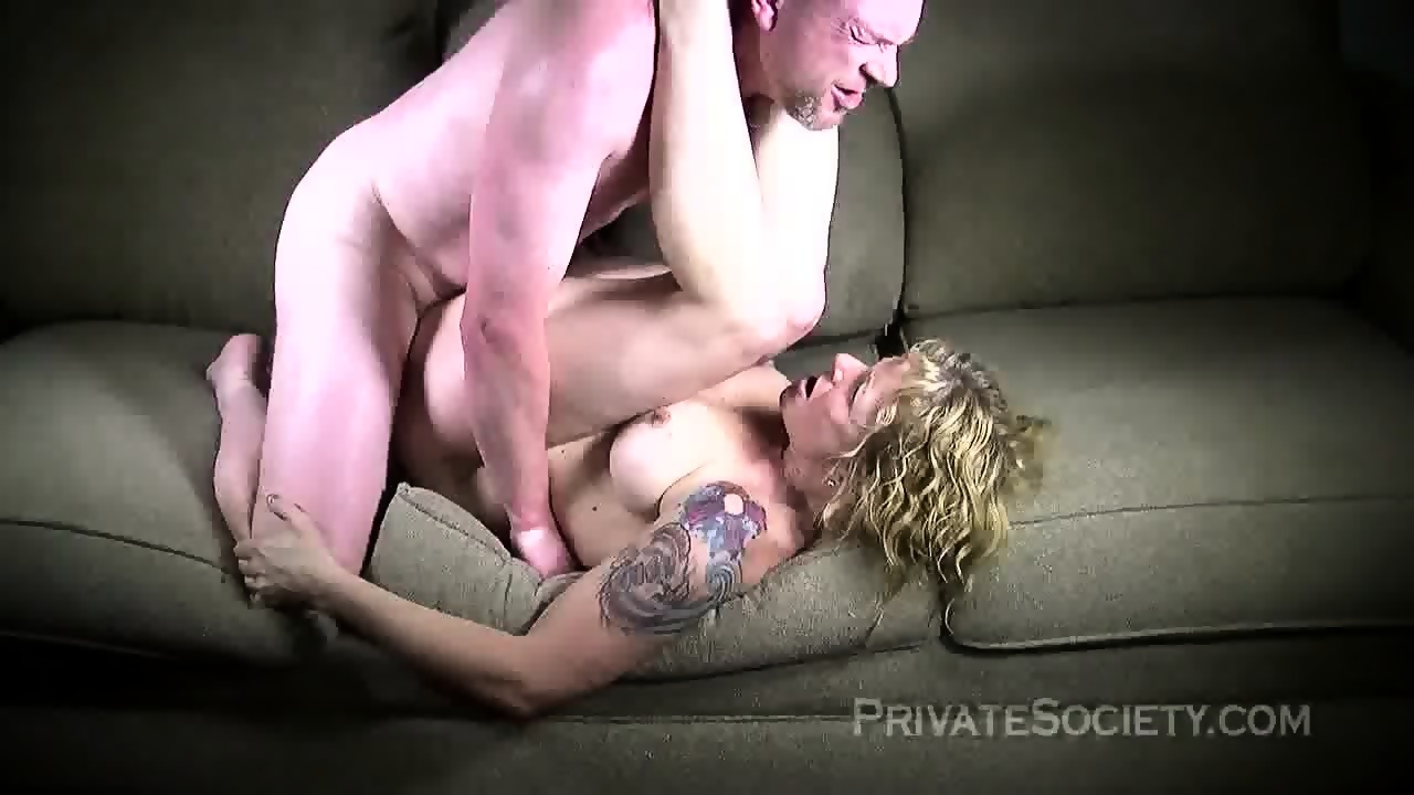 Strange Mature Blonde Fucked On Sofa Eporner