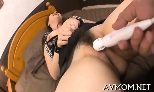 Slutty Mommy Finger Fucking Act -