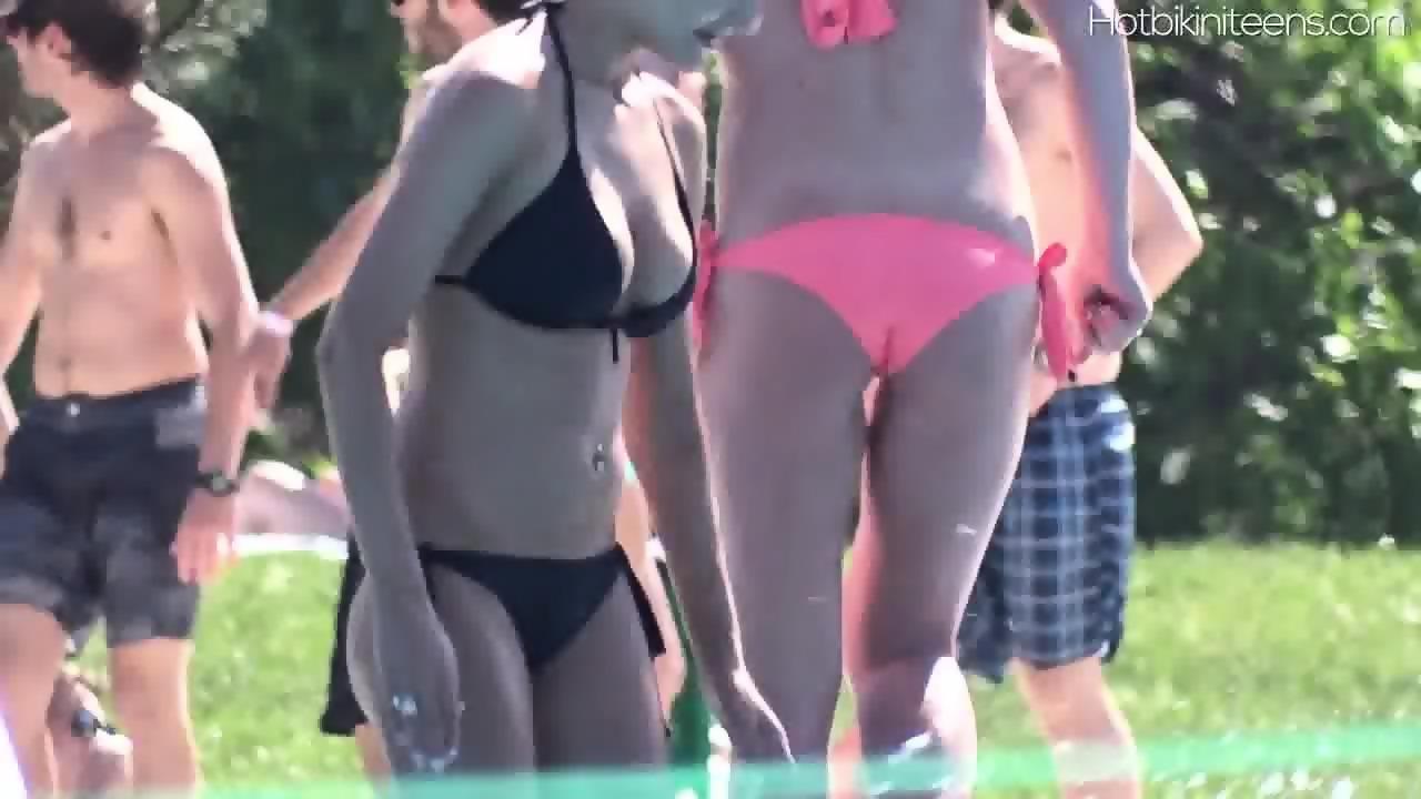 Hot Bikini Teen Babes Voyeur Beach Hd Video - EPORNER