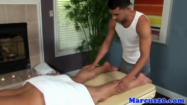 Cute college dude showing ripped body