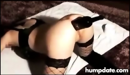 Baby bottle in ass porn