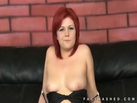 Nude girl on hummer