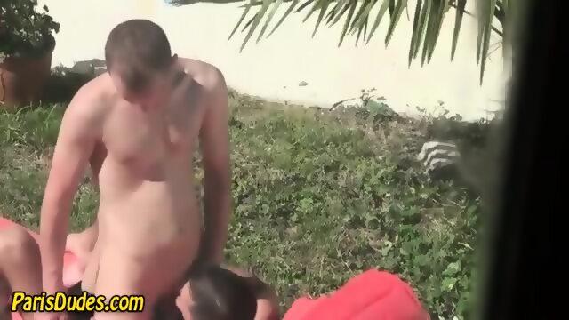 Outdoor Sucking Amateurs