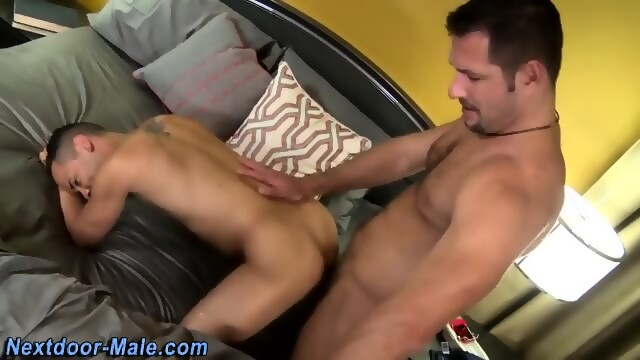 Muscled Jock Cum Drenched