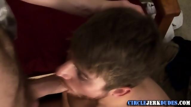 Cock sucking college stud