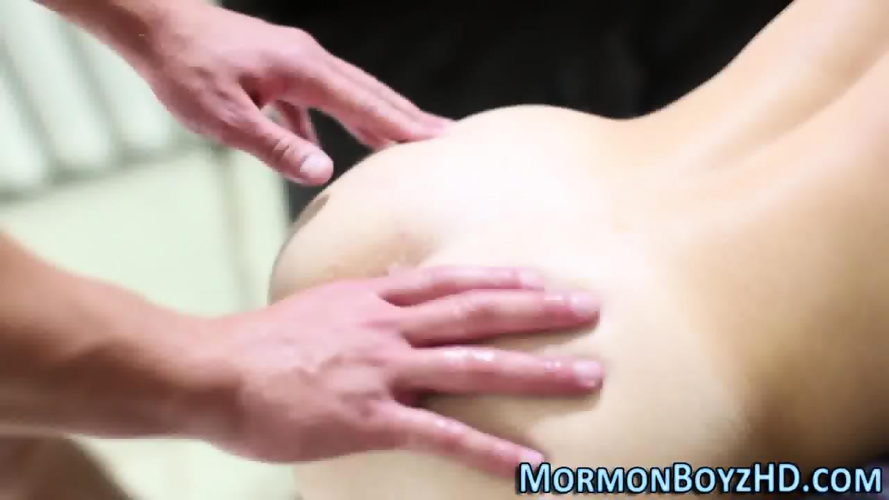 Horny Mormon Ass Cummed
