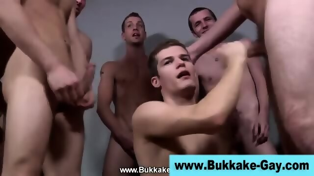 Cum Drenched Hunk Plowed