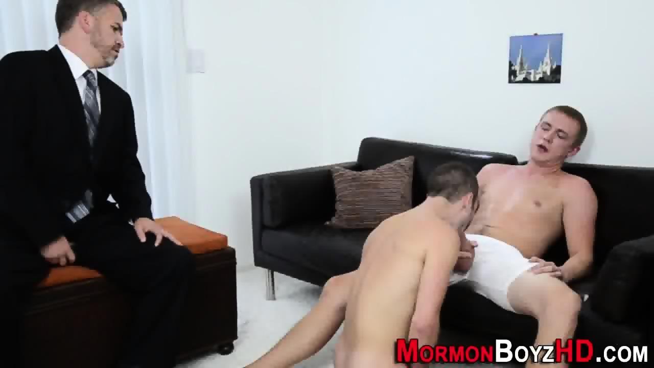 Mormon ass cum blessed