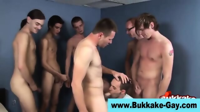 Group Twink Gobbles Cocks