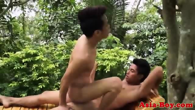 Outdoor Bareback Action