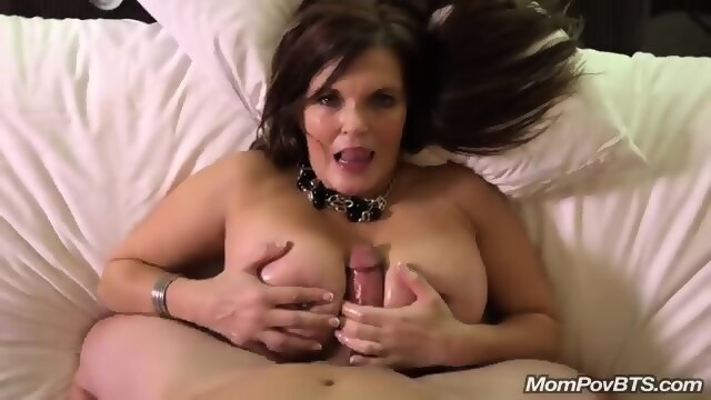 Cute milf riding big cock