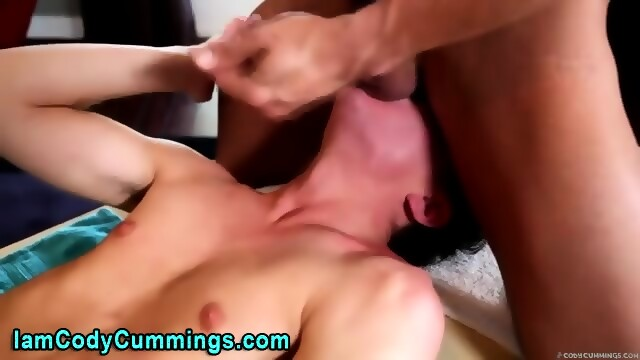 Cody Tugs Cock Over Twink