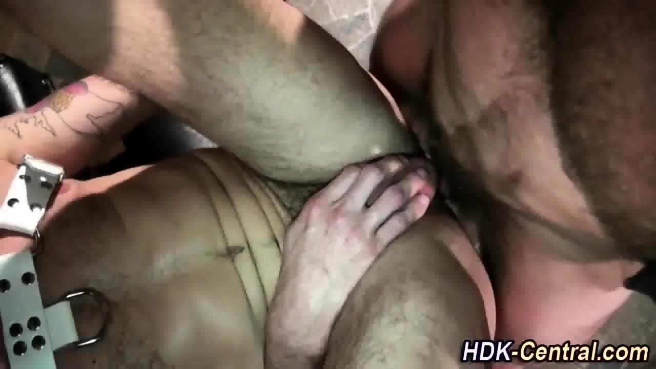 Leather gay barebacked