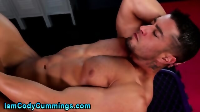 Cock Tugging Pornstar