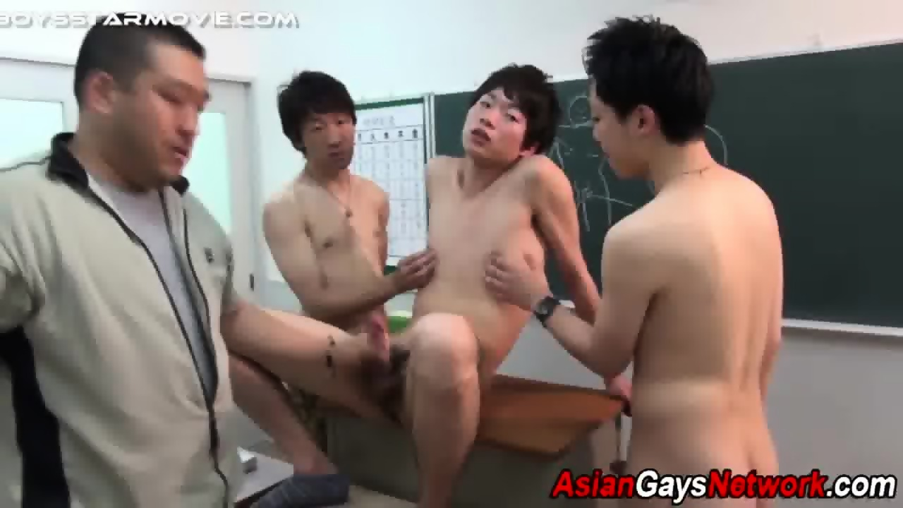 Japanese twink fingered