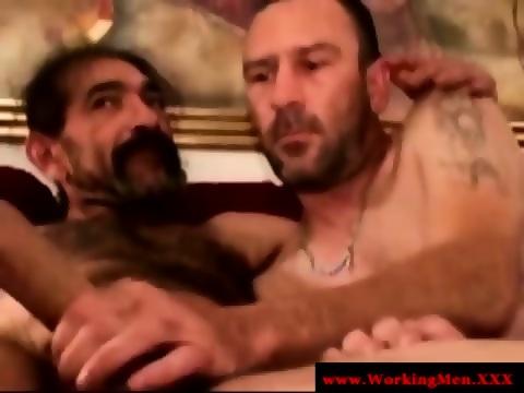 Hairy Gaysex Biker Sucking Hard Cock