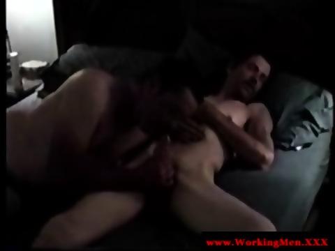 bluecollar mature sucks and fucks
