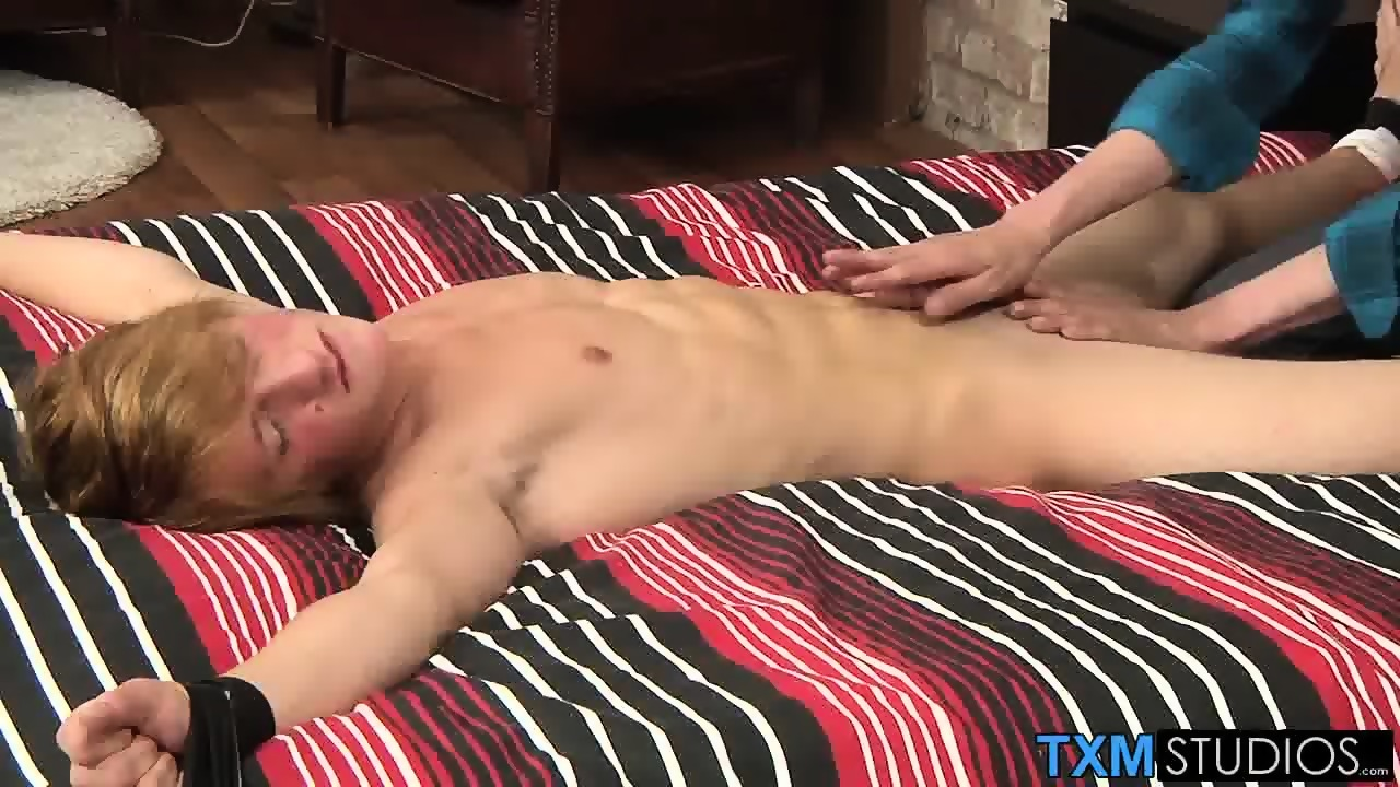 naked youngster james is vulnerable and at our mercy