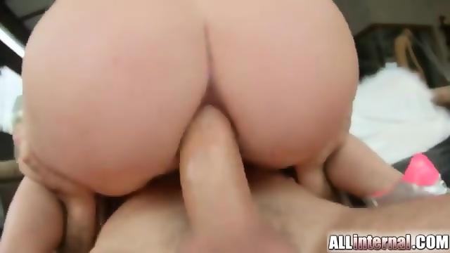 All internal clarissa039s tight pussy loves that juicy cum 8