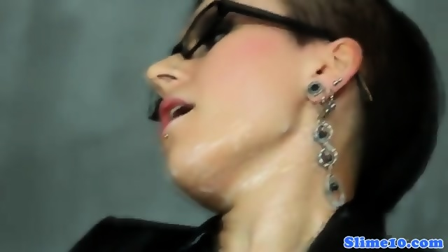 Cocksucking Gloryhole Euro Bukkaked Over Spex