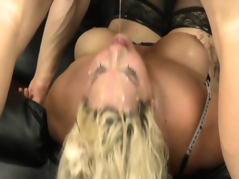 Huge boob ebony photo