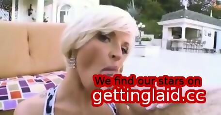 Long white cocks sucked blonde milf pity