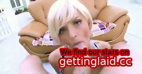 Long white cocks sucked blonde milf
